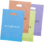 Aster Frosted Bright Die Cut Bags
